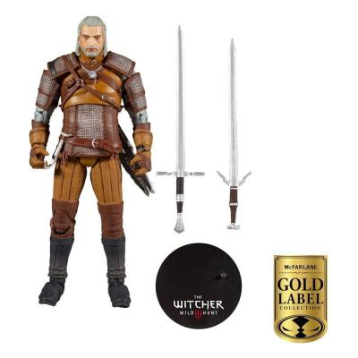 The Witcher figurine Geralt of Rivia Gold Label Series 18 cm