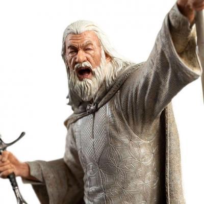Le Seigneur des Anneaux Figures of Fandom statuette PVC Gandalf le Blanc 23 cm