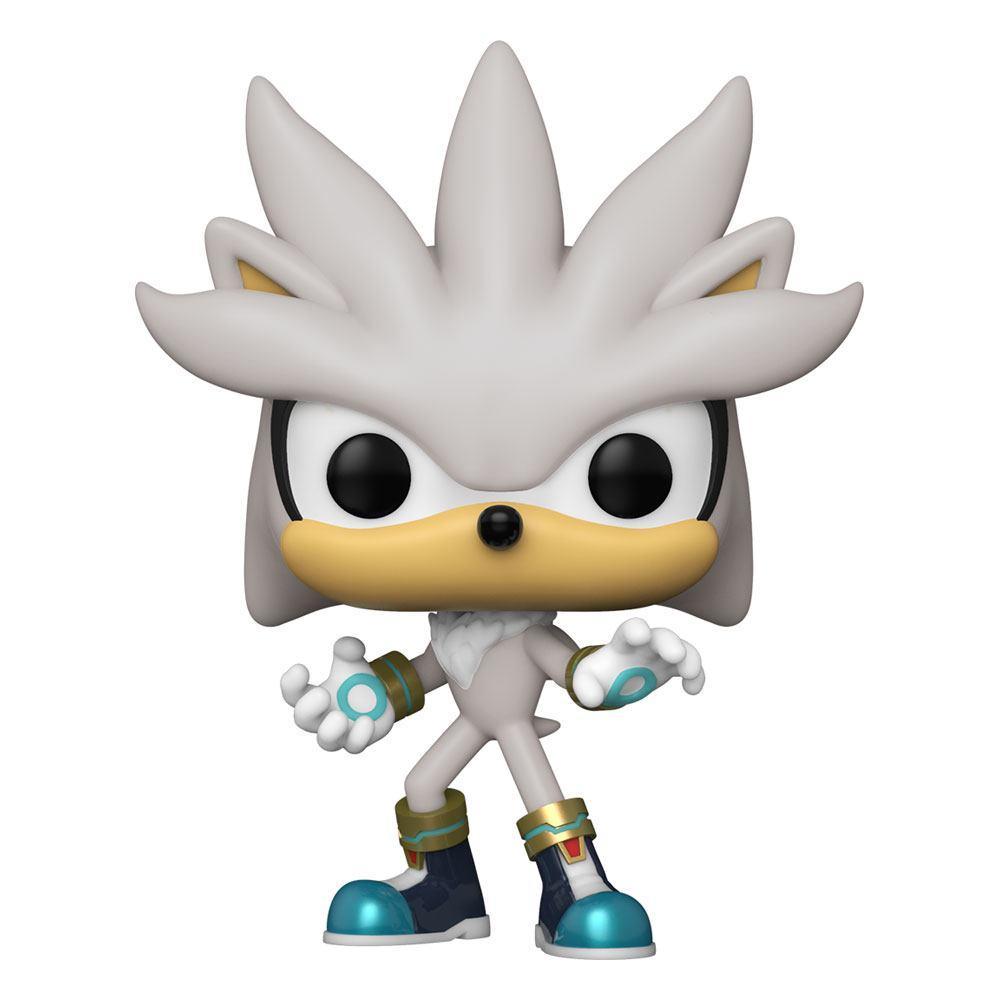 Sonic the hedgehog pop games vinyl figurine sonic 30th silver the hedgehog