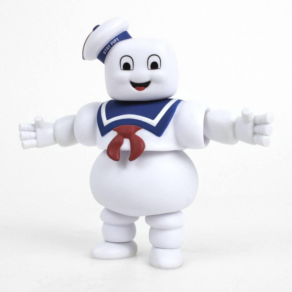 Sos fantomes vinyl figurine drogon stay puft marshmallow man 13 cm suukoo toys