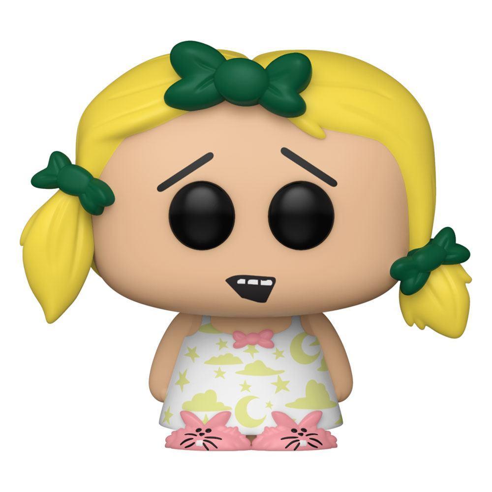 South park pop television vinyl figurine butters as marjorine 9 cm 1