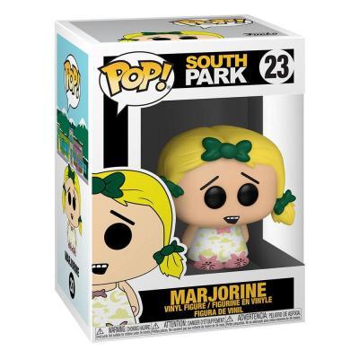 South park pop television vinyl figurine butters as marjorine 9 cm 2