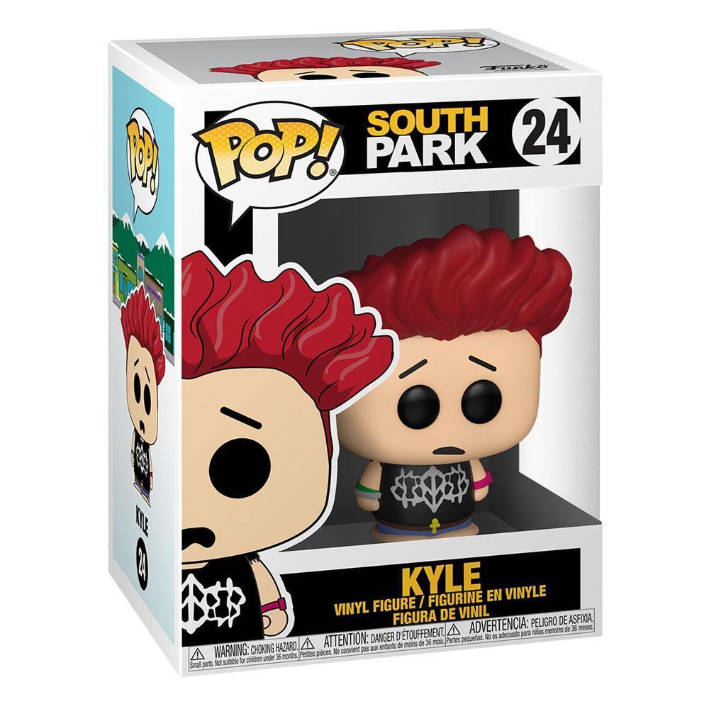 South park pop television vinyl figurine jersey kyle 9 cm 2