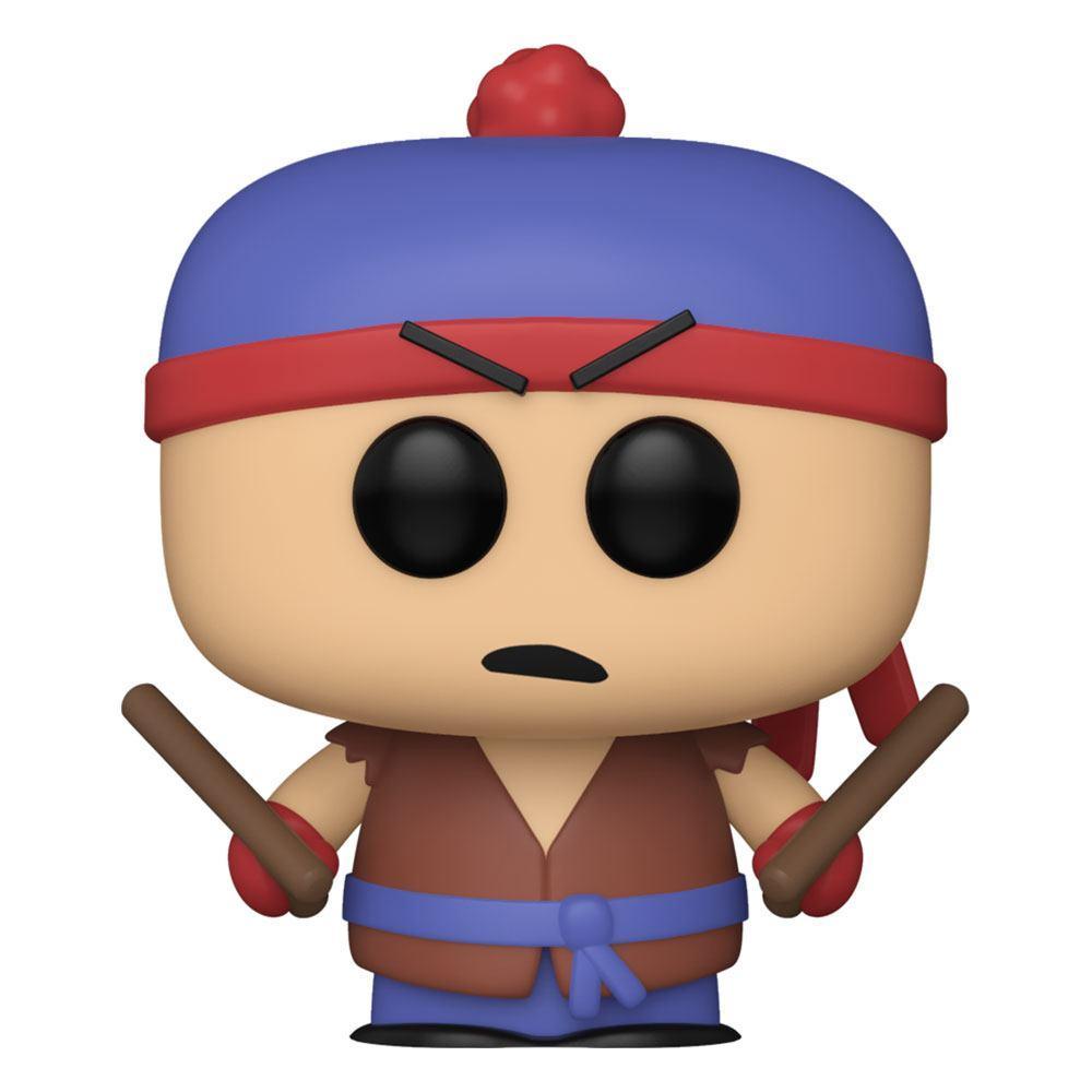 South park pop television vinyl figurine shadow hachi stan 9 cm 1