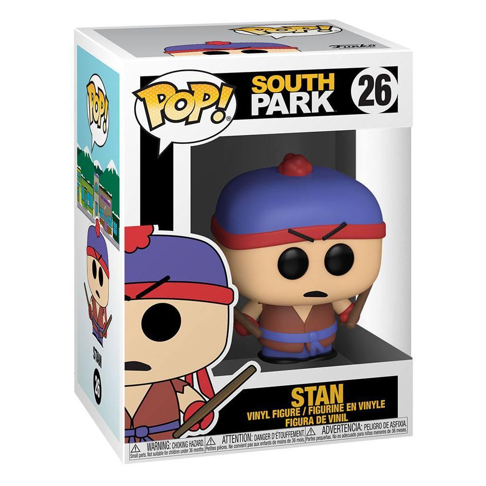South park pop television vinyl figurine shadow hachi stan 9 cm 2