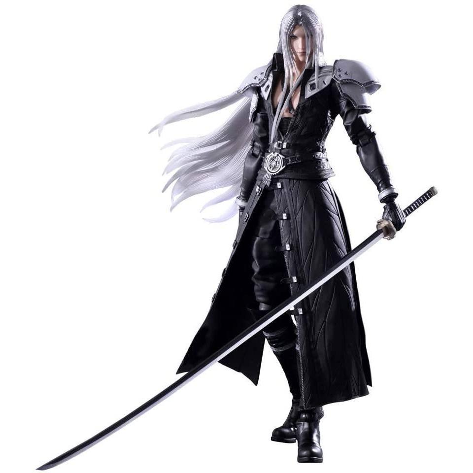 Squareenix final fantasy vii play arts kai figurine sephiroth 28 cm suukoo toys 1