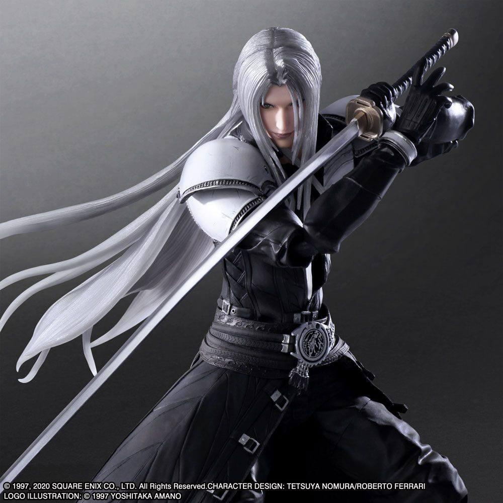 Squareenix final fantasy vii play arts kai figurine sephiroth 28 cm suukoo toys 2