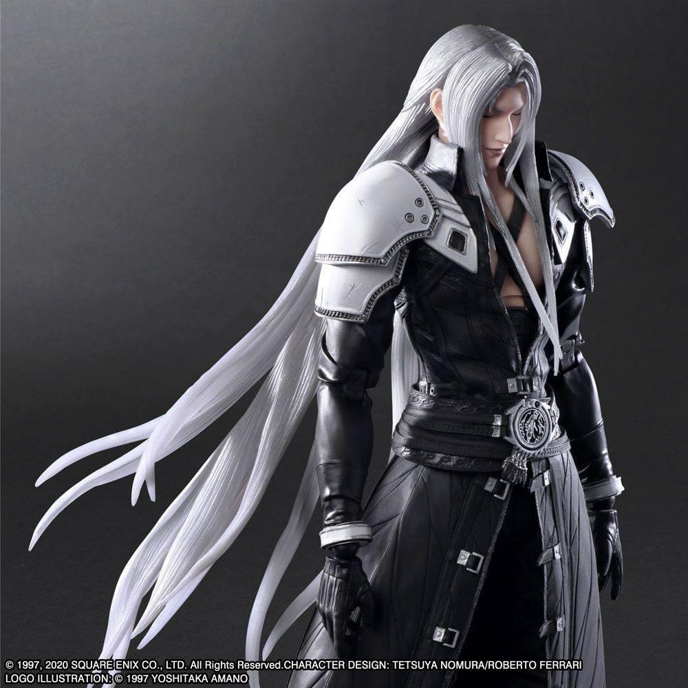 Squareenix final fantasy vii play arts kai figurine sephiroth 28 cm suukoo toys 3