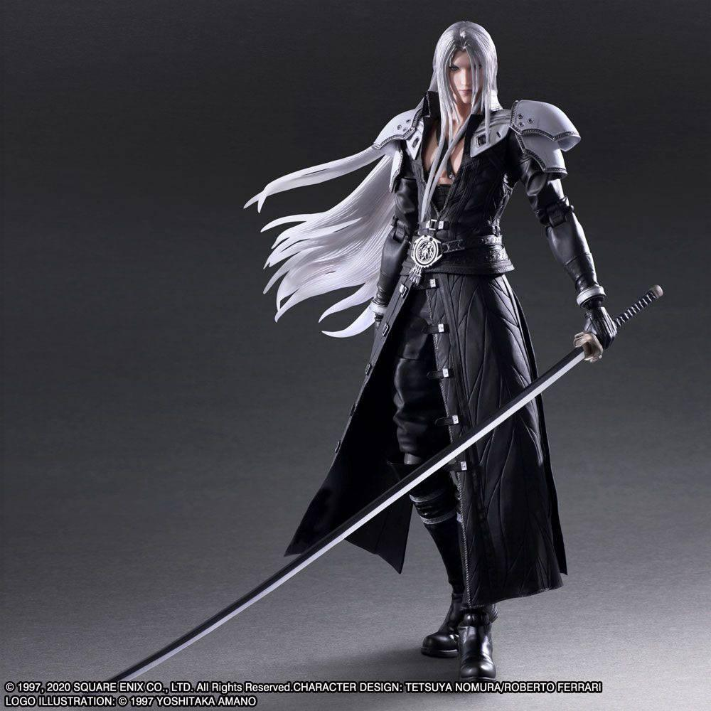 Squareenix final fantasy vii play arts kai figurine sephiroth 28 cm suukoo toys 4