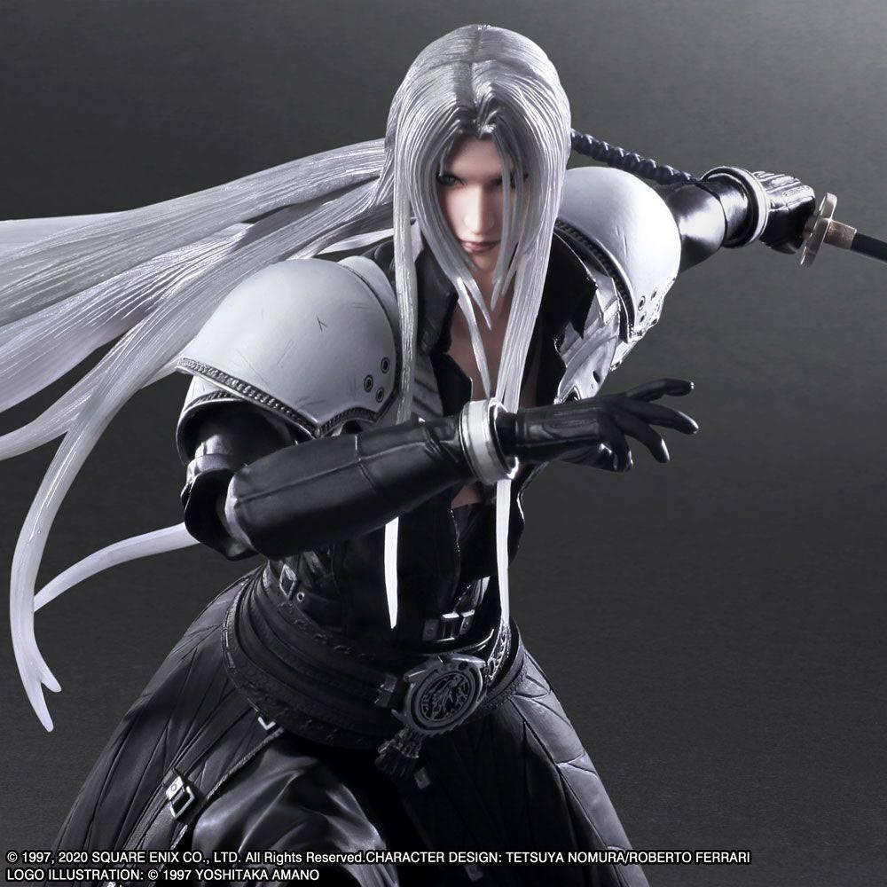 Squareenix final fantasy vii play arts kai figurine sephiroth 28 cm suukoo toys 6
