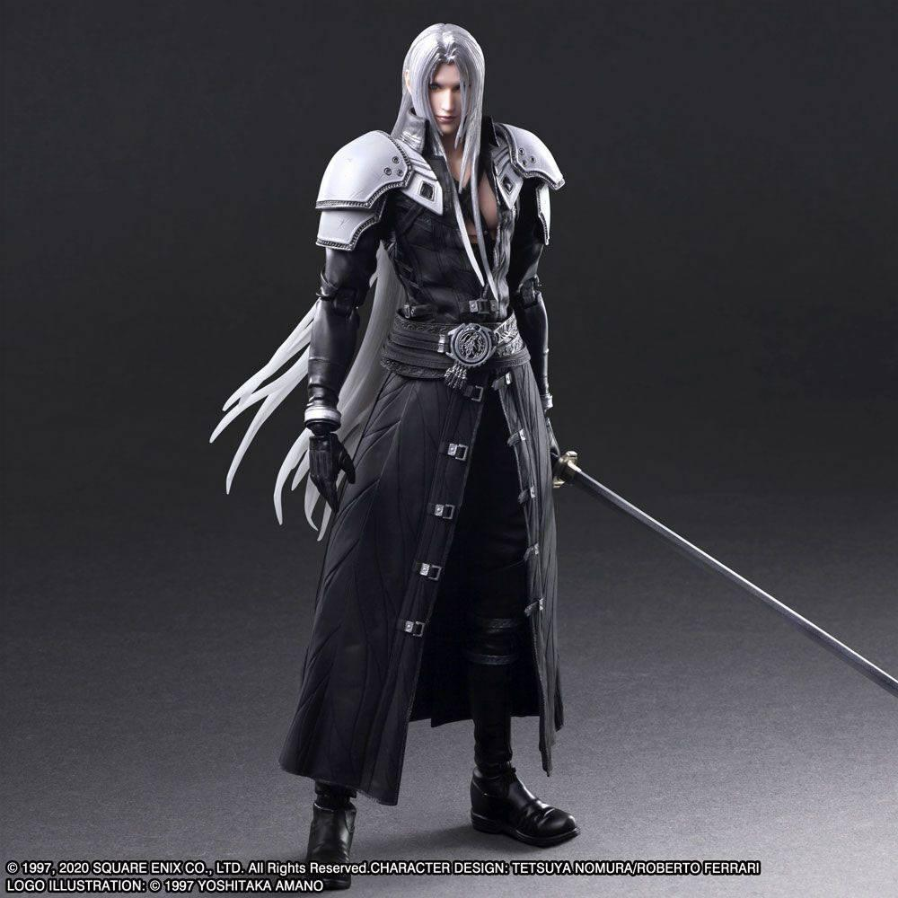 Squareenix final fantasy vii play arts kai figurine sephiroth 28 cm suukoo toys 9