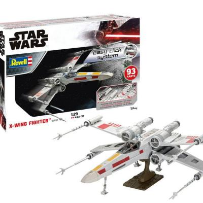 Star wars maquette easy click 129 x wing fighter 44 cm 5