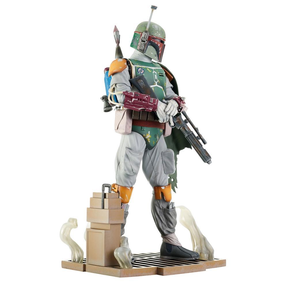 Star wars return of the jedi milestones boba fett statue 1