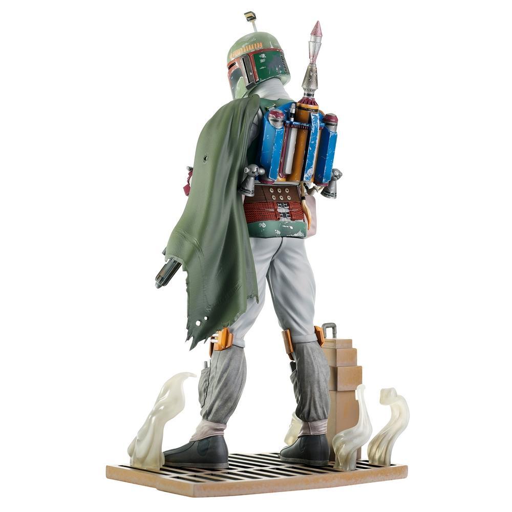 Star wars return of the jedi milestones boba fett statue suukoo toys