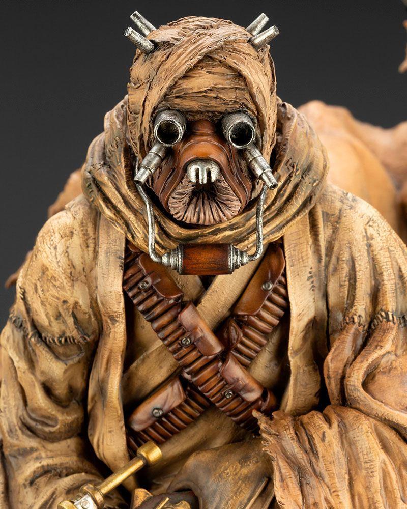 Star wars statuette pvc artfx 17 tusken raider barbaric desert tribe artist series ver 33 cm 10