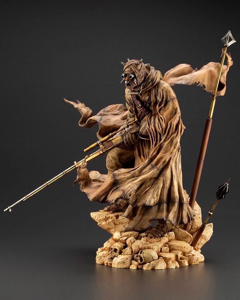 Star wars statuette pvc artfx 17 tusken raider barbaric desert tribe artist series ver 33 cm 2