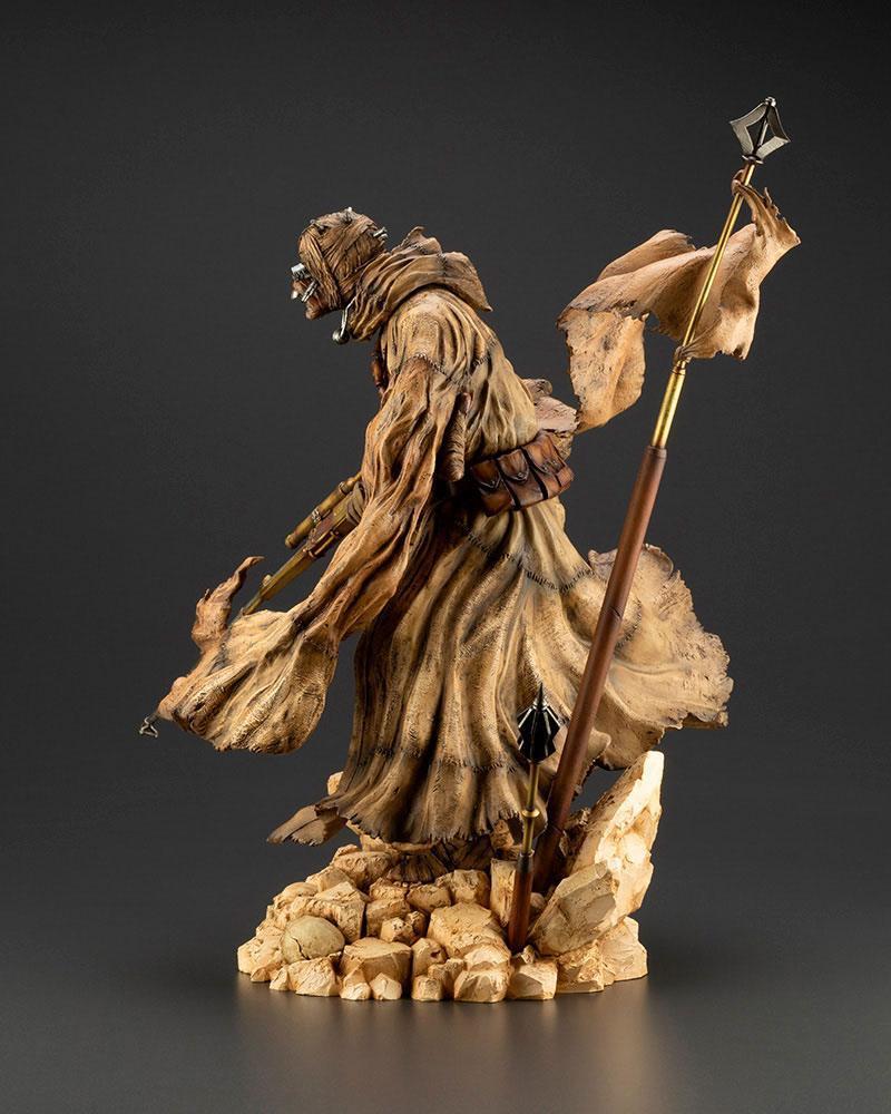 Star wars statuette pvc artfx 17 tusken raider barbaric desert tribe artist series ver 33 cm 3