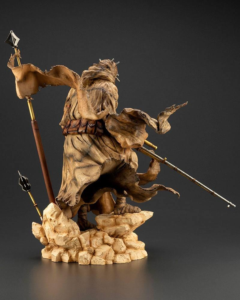 Star wars statuette pvc artfx 17 tusken raider barbaric desert tribe artist series ver 33 cm 6