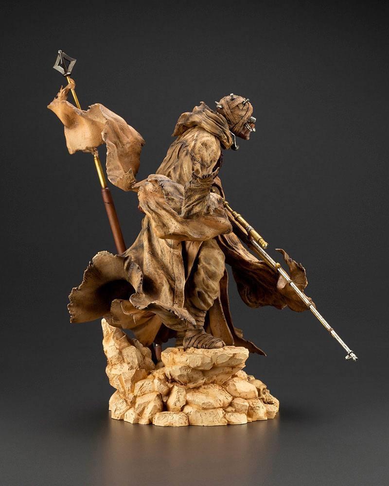 Star wars statuette pvc artfx 17 tusken raider barbaric desert tribe artist series ver 33 cm 7