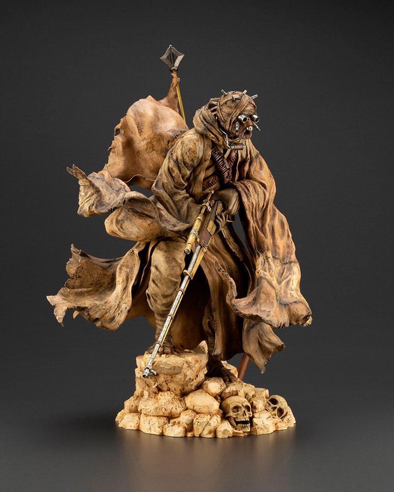 Star wars statuette pvc artfx 17 tusken raider barbaric desert tribe artist series ver 33 cm 8