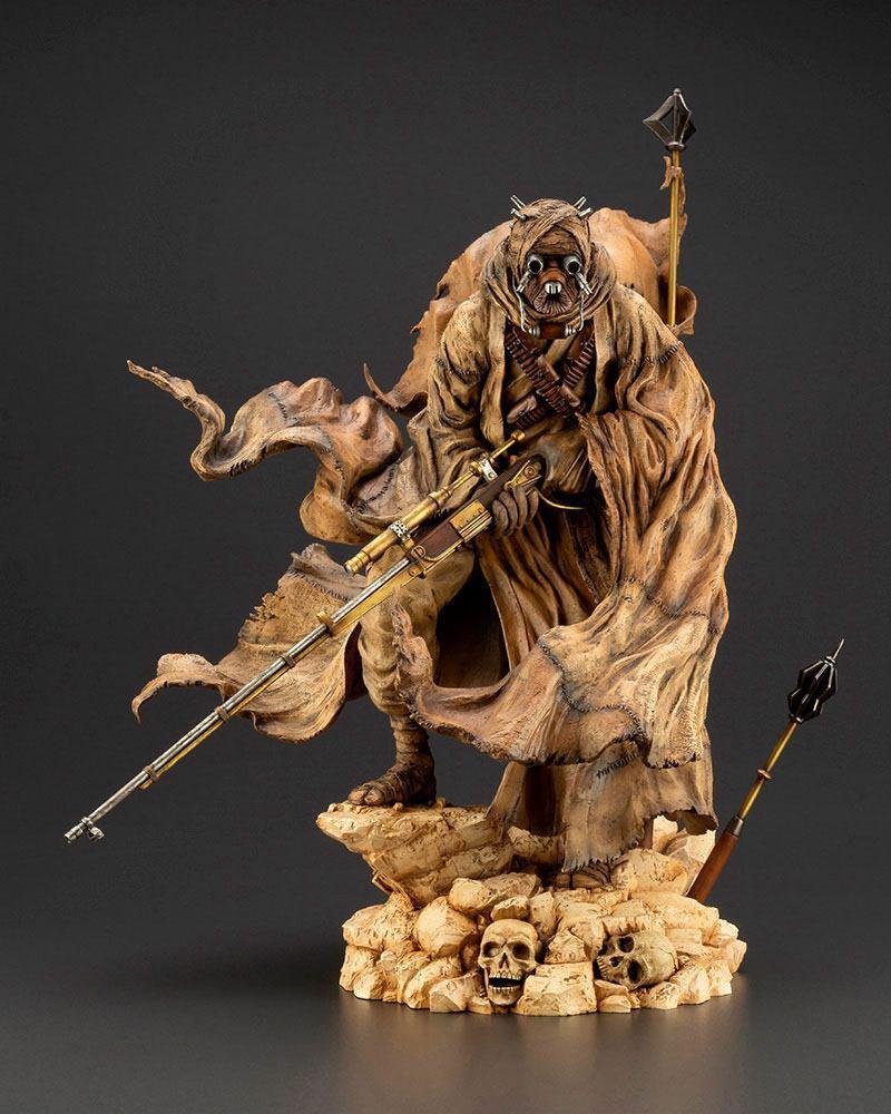 Star wars statuette pvc artfx 17 tusken raider barbaric desert tribe artist series ver 33 cm 9