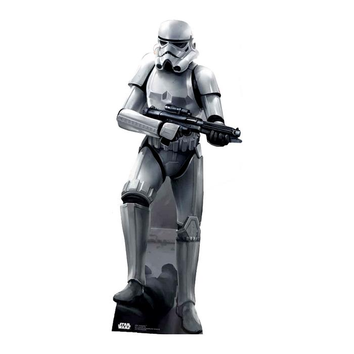 Star wars stormtrooper cutout silhouette chevalet
