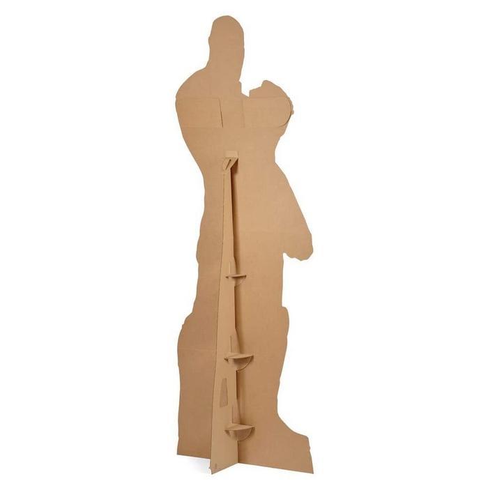 Star wars the last jedi praetorian guard cutout silhouette chevalet suukoo toys figurine 1