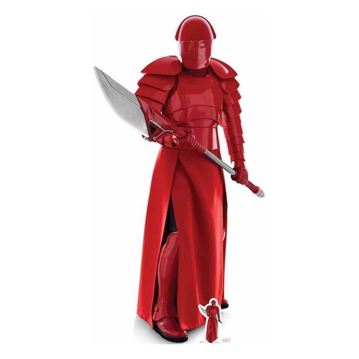 Star wars the last jedi praetorian guard cutout silhouette chevalet suukoo toys figurine 4