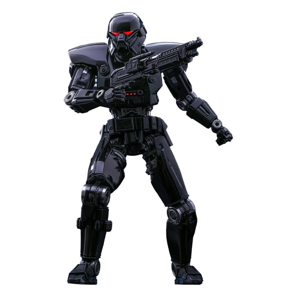 Star wars the mandalorian figurine 16 dark trooper 32 cm 1