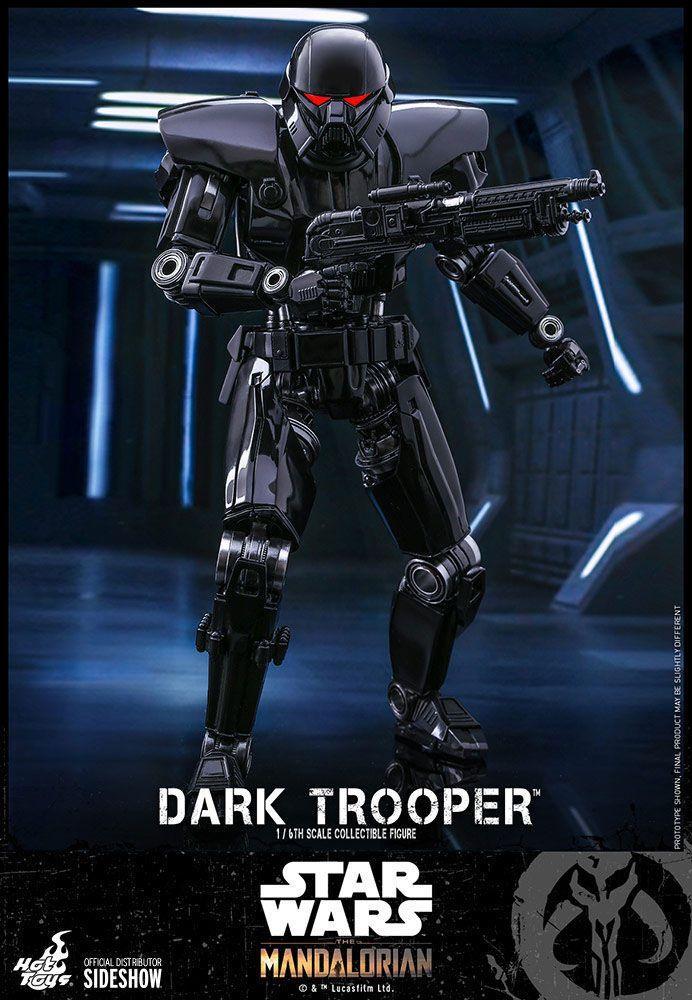 Star wars the mandalorian figurine 16 dark trooper 32 cm 10