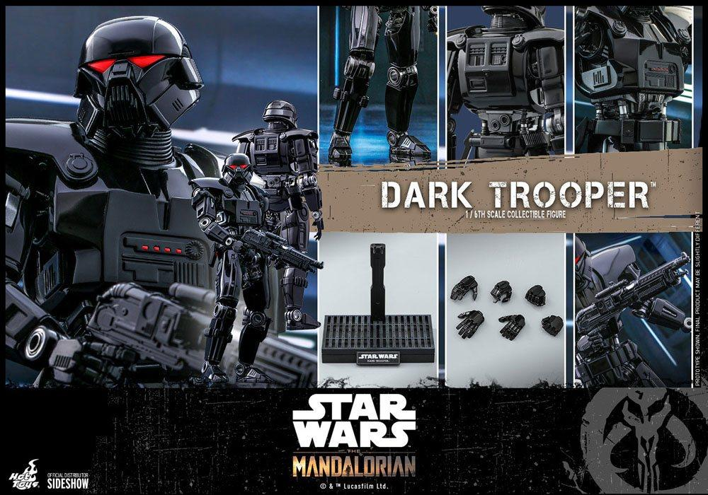 Star wars the mandalorian figurine 16 dark trooper 32 cm 2