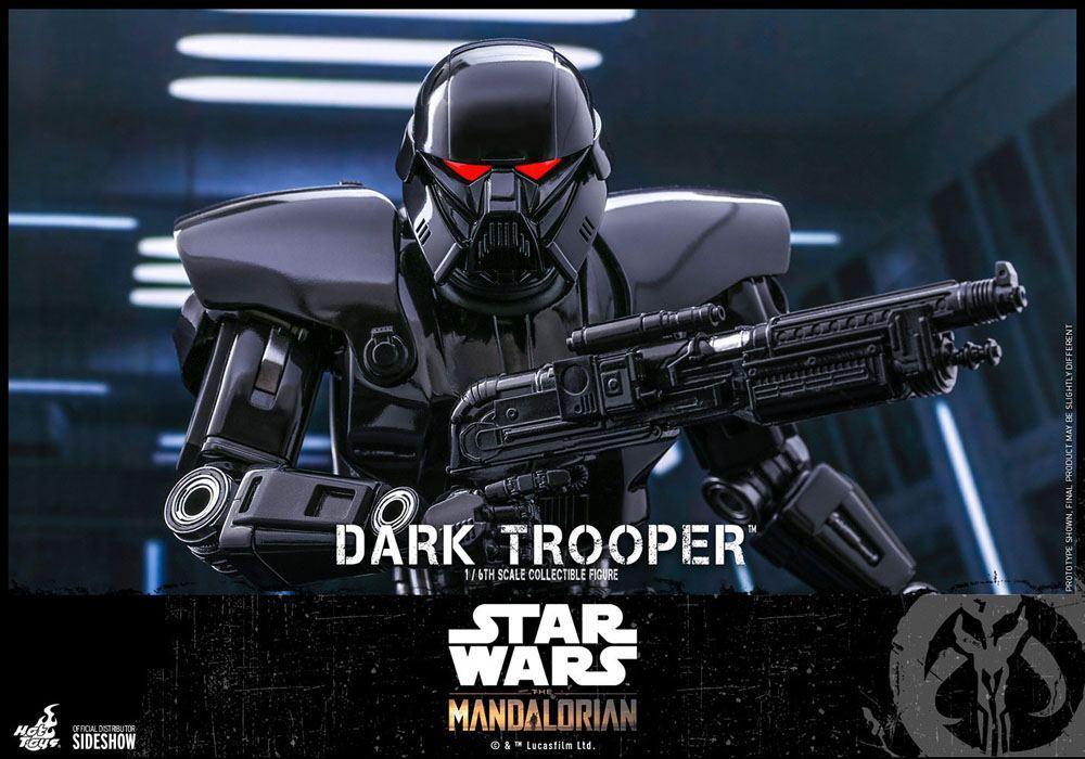 Star wars the mandalorian figurine 16 dark trooper 32 cm 3