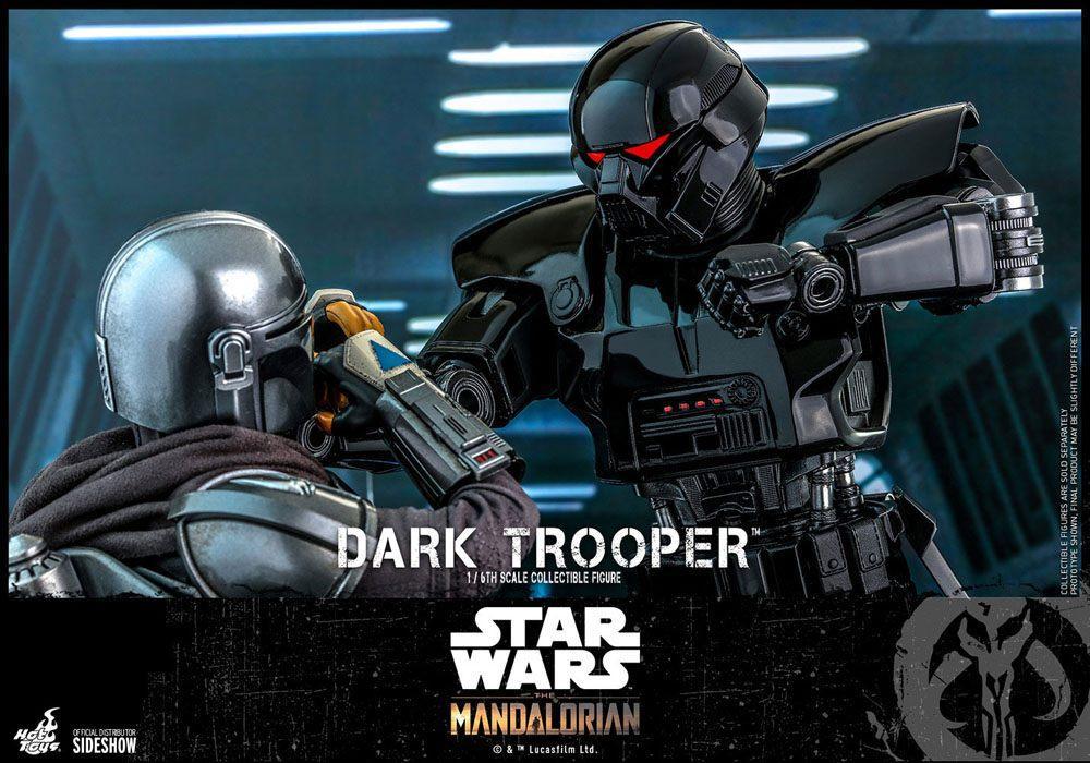 Star wars the mandalorian figurine 16 dark trooper 32 cm 5