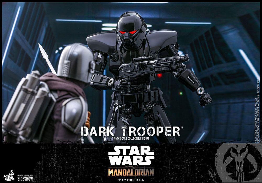 Star wars the mandalorian figurine 16 dark trooper 32 cm 6