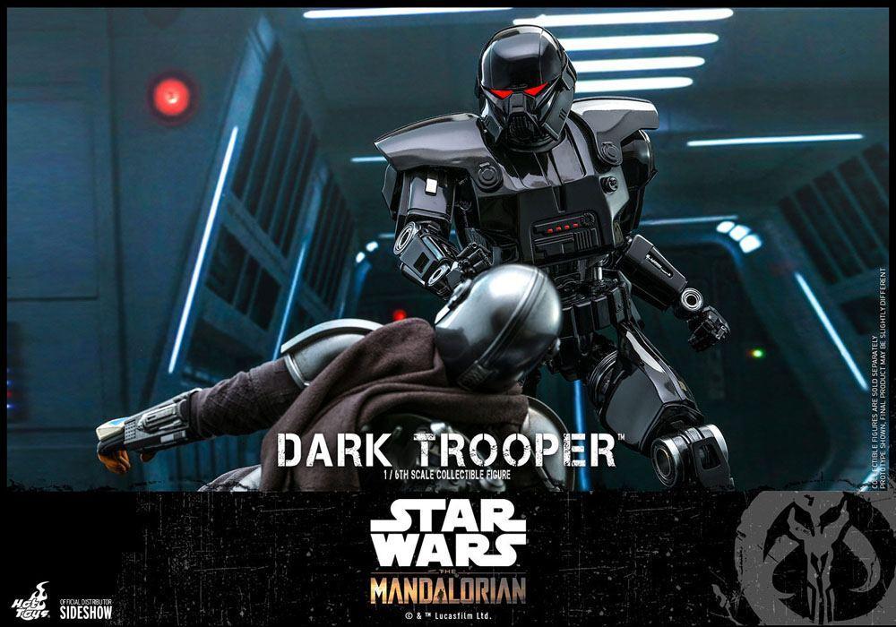 Star wars the mandalorian figurine 16 dark trooper 32 cm 7