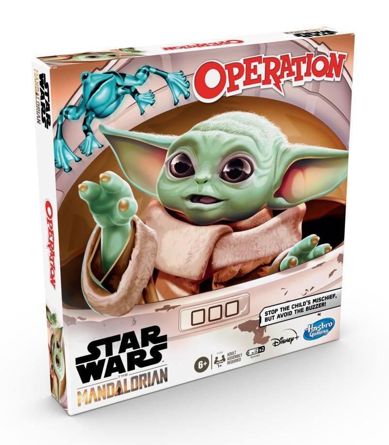 Star wars the mandalorian jeu operation hasbro the child 1