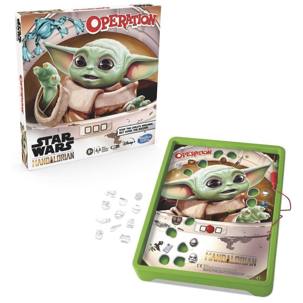 Star wars the mandalorian jeu operation hasbro the child 3