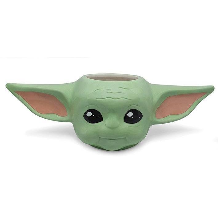 Star wars the mandalorian mug shaped 3d the child