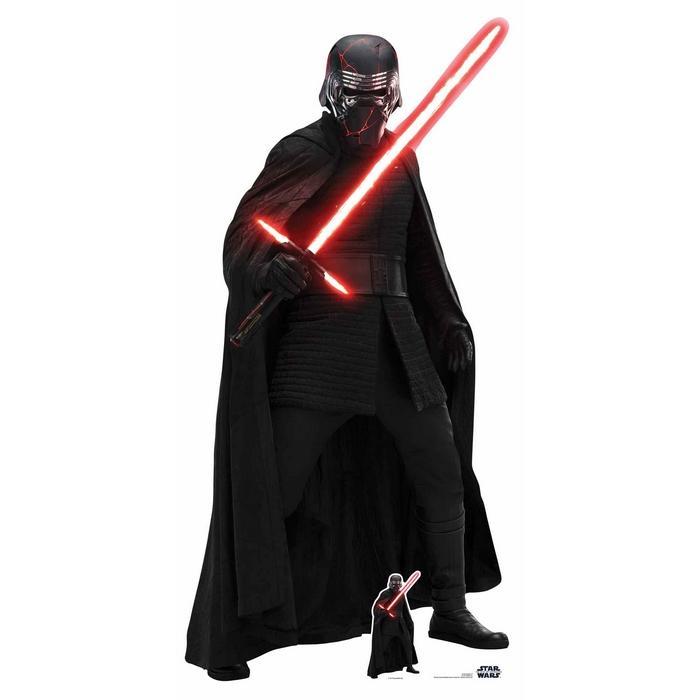 Stars wars kylo ren cutout silhouette chevalet