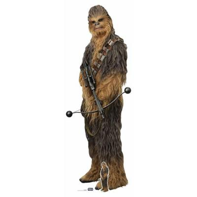 Star Wars -  Rise of skywalker Chewbacca cutout Silhouette Chevalet