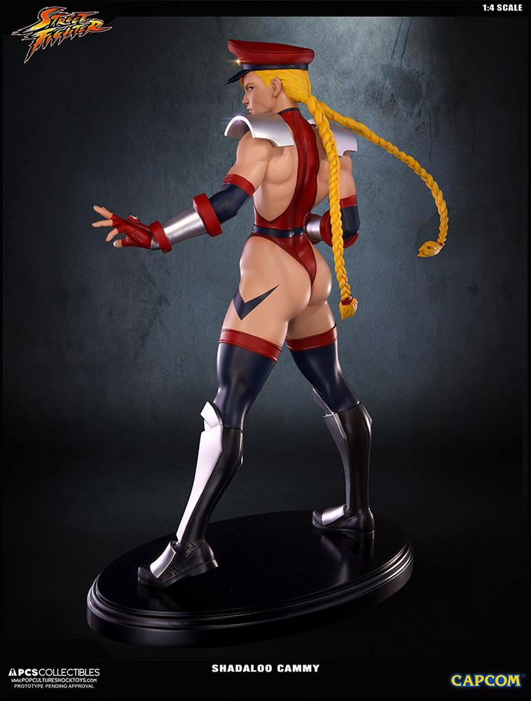 Statue 43cm super street fighter iv shadaloo cammy suukoo toys 5