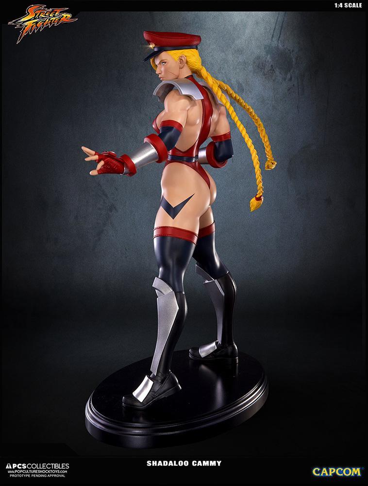 Statue 43cm super street fighter iv shadaloo cammy suukoo toys 6