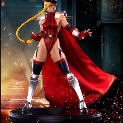 Super Street Fighter IV Statue Shadaloo Cammy 1/4 Résine 43cm