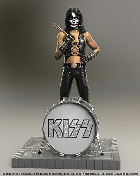 Statue resine kiss musique group suukoo toys 3