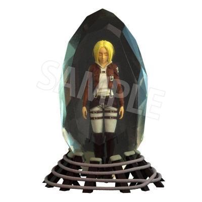 Attack on Titan statuette 3D Crystal Annie Leonhart 10 cm