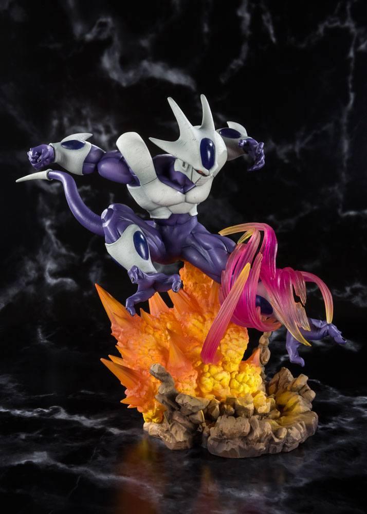 Statuette dragon ball z figuarts zero cooler final form 22cm 1001 figurines