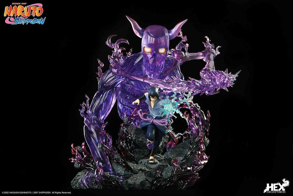 Statuette sasuk uchiha hex collectibles suukoo toys edition limitee 3
