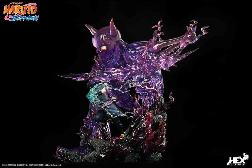Statuette sasuk uchiha hex collectibles suukoo toys edition limitee 5