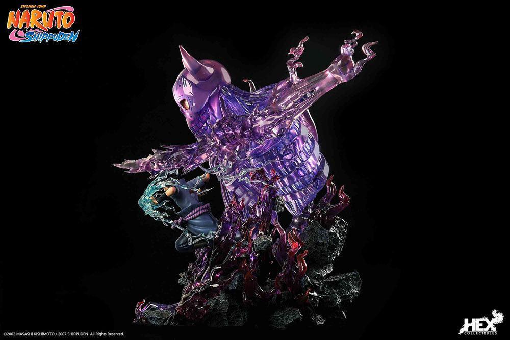 Statuette sasuk uchiha hex collectibles suukoo toys edition limitee 6