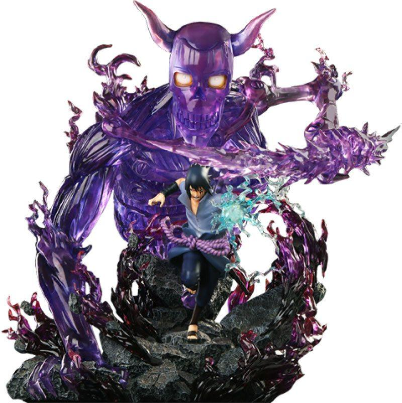 Statuette sasuke uchiha hex collectibles suukoo toys edition limitee 1